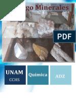 Catálogo De Minerales Unam México1+