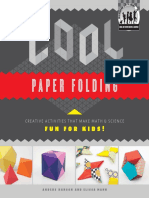 (Cool Art With Math & Science) Anders Hanson-Cool Paper Folding. Creative Activities That Make Math & Science Fun for Kids!-ABDO Publishing Company_ABDO Publishing_Checkerboard