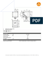 Photoelectric distance sensor