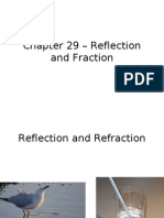 Chapter 29 - Reflection and Refraction