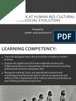 Biological and Cultural Evolution