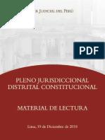 Distrital Constitucional Lima 2018