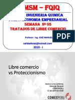 2019 - Ee - Semana 05 - Tratados de Libre Comerci