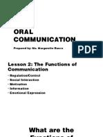 Lec 2 Oral Communication