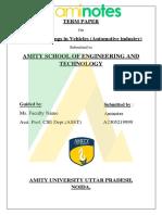 Aminotes - NTCC Project IOT Vehicles
