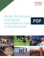Guide de Bonnes Pratiques - Exploitation Miniere Et Biodiversite[1]