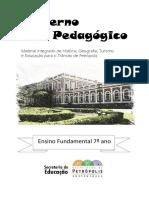 Caderno Pedagogico de HGTP 7 Ano