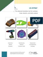 Predictive Engineering Ls-dyna Brochure