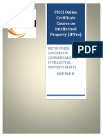 1559628960 Module 8 Course Material Ippro Key Business Concerns in Commercializing Intellectual Property Rights