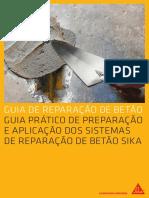 Sika-Guia de Reparação de Betão