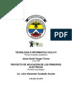 PROYECTO DE APLICACION DE LOS CIRCUITOS ELECTRICOS