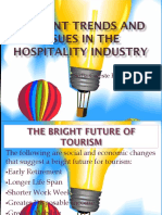 Current Trends and Issues in the Hospitality Industry