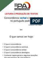 5 Concordancia verbal e nominal Aula 5 (3).ppt