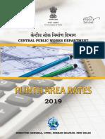 Plinth Area Rates 2019
