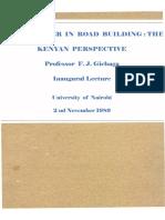 Engineer in Road Building