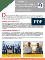DFI-NAC One Day Seminar - 20th July 2019