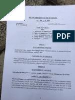 Charges Against Nana Appiah Mensah