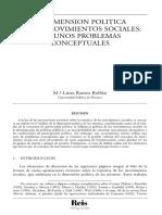 La Dimension Politica De Los Movimientos Sociales.pdf