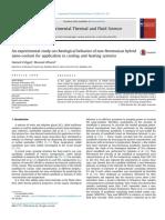 2016 - Eshgarf - Newtonian and Non-Netonian Hibrid Nanofluid