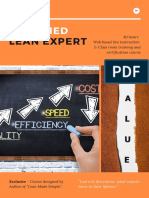 Certified Lean Expert Brochure