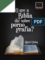 O Que a Bíblia Diz Sobre Pornografia 2019
