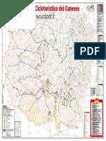 Cartina Distretto Cicloturistico Del Cuneese