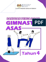 4. Panduan Pengajaran Gimnastik Asas Tahun 4