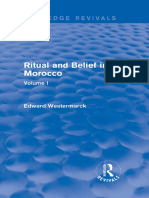 Ritual and Belief in Morocco VOL I (Edward Westermarck)