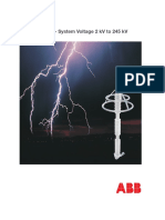 ABB Pararrayos XPS - Catalogue