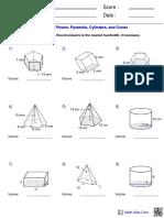 volume of geometry