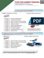 Ties Institute - International Trade Courses
