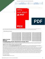Scrum Master Certification Exam Sample Questions PDF 2019 1