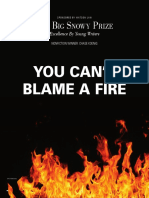 You Can't Blame a Fire
