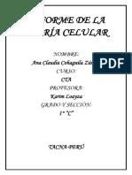 INFORME DE LA TEORÍA CELULAR (ANA).docx