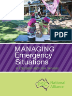 Managingn Emergency Situations in Education and Care Services