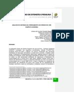 ANÁLISE DO SISTEMA DE ATERRAMENTO DO PRÉDIO DO CES CAMPUS ACADEMIA