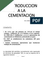 Introduccion a La Cementacion