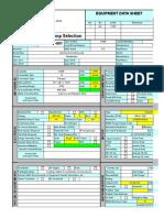 11 d Equipment Data Sheet