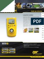 GasAlert XT Datasheet(5558 10 en)