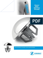 Zimmer Sidus Stem Free Shoulder Brochure