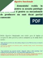 Boli Digestive Functionale 2018