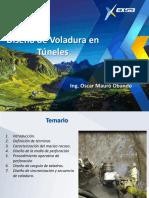 4.0.-Diseño de Voladura en Túneles - Junio 2016