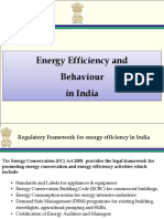 Enegy Efficiency and Conservation in India