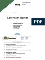 IMS Laboratory Reports
