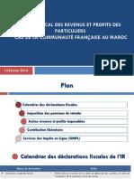 Fiscalite Des Ressortissants Francais Au Maroc