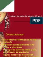 sintesis ENCUENTRO FORMADORES PC.ppt