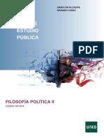 Filosofía Política II