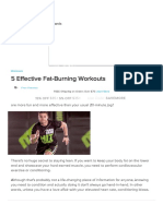 5 Effective Fat-Burning Workouts