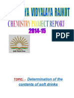 Chemistry Project 2014-15 (Autosaved).Docx