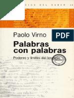 Paolo Virno - Palabras con palabras.pdf